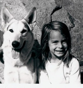 German Shepherd and Dog Genie
