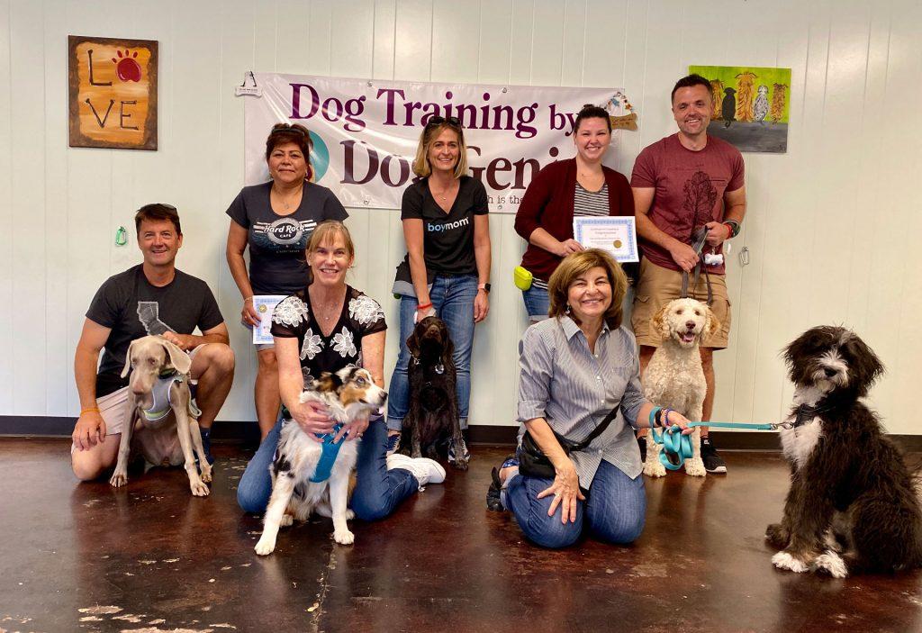 Happy Dog Training Grads